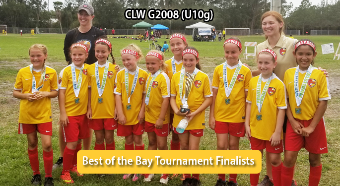 CLW U10g Best of the Bay Finalists