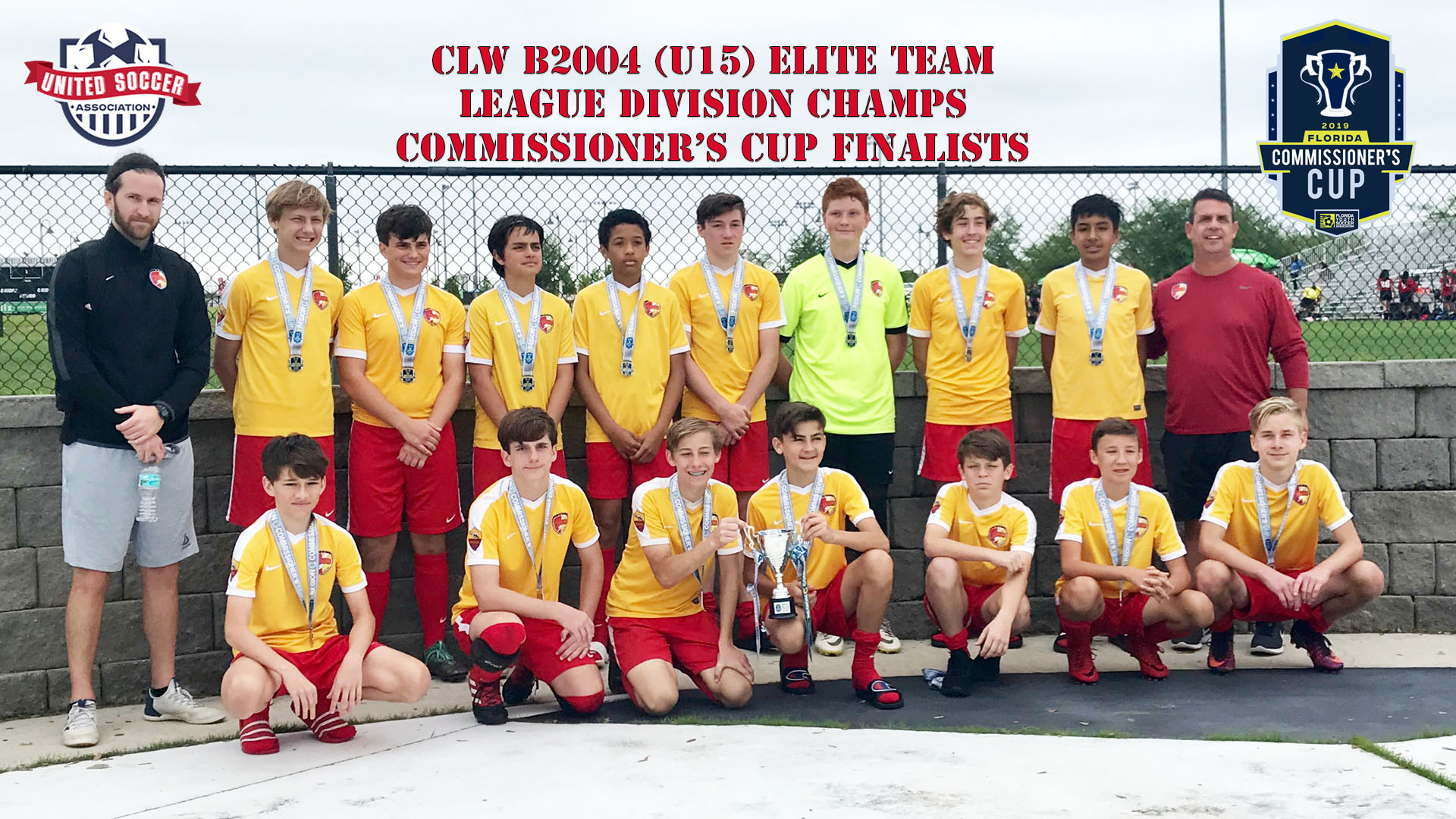 CLW U15b Lge Champs & Cup Finalists