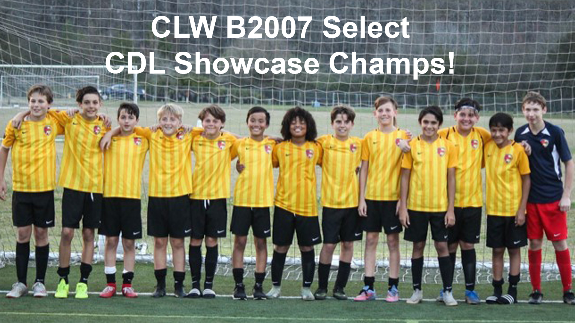 CLW B2007 Select CDL Showcase Champs!
