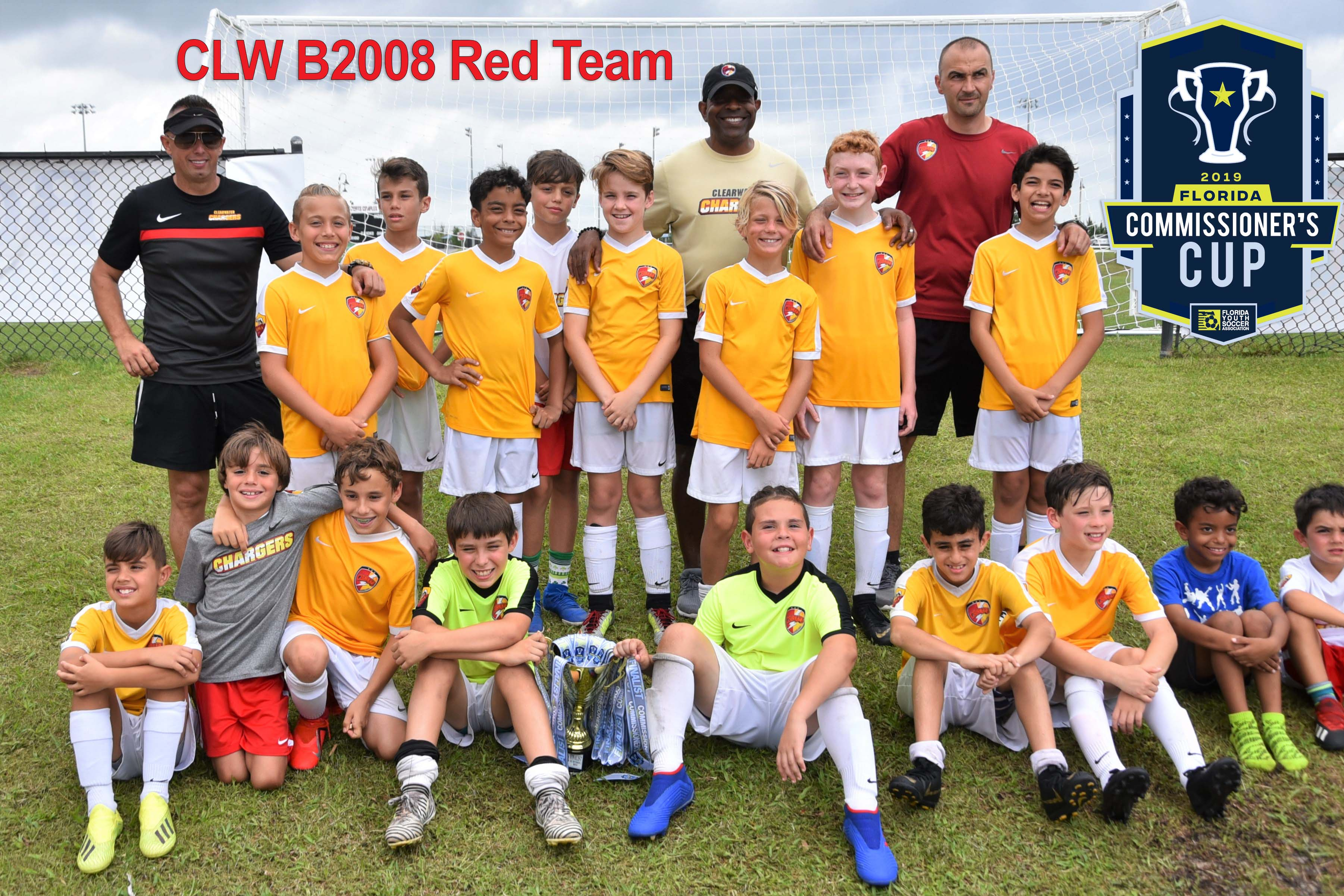CLW B2008 Red - Commissioner's Cup Successes