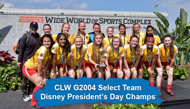 CLW G2004 Disney Pres Day Champs
