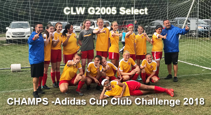 CLW G2005 Adidas Cup CHAMPS