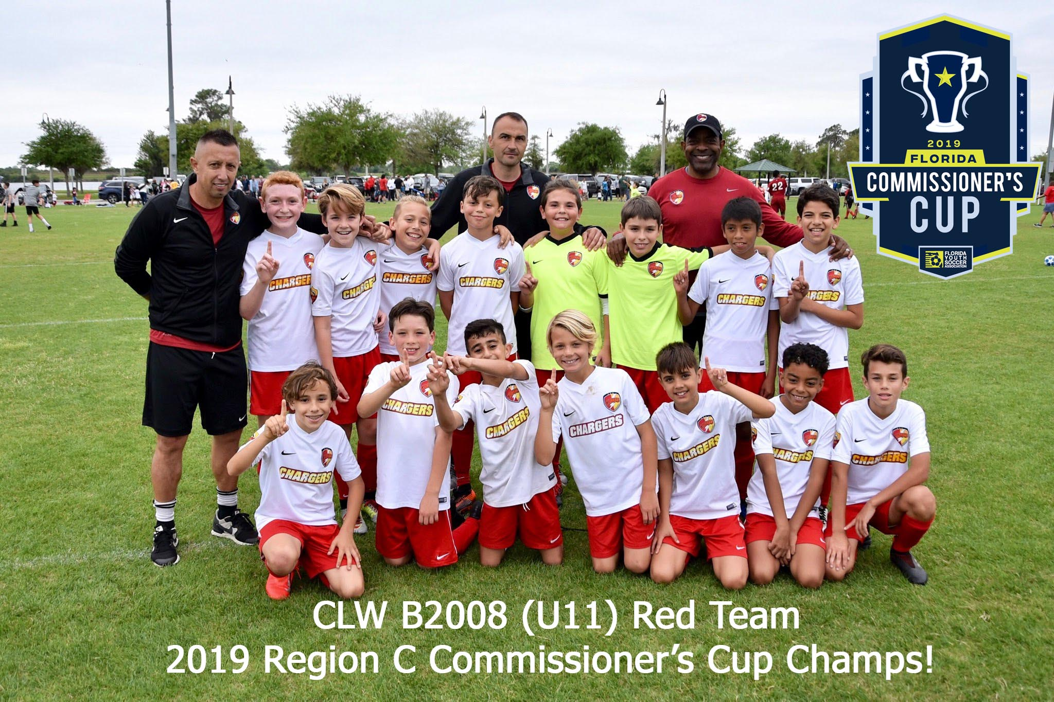 CLW U11b Win Commissioner's Cup