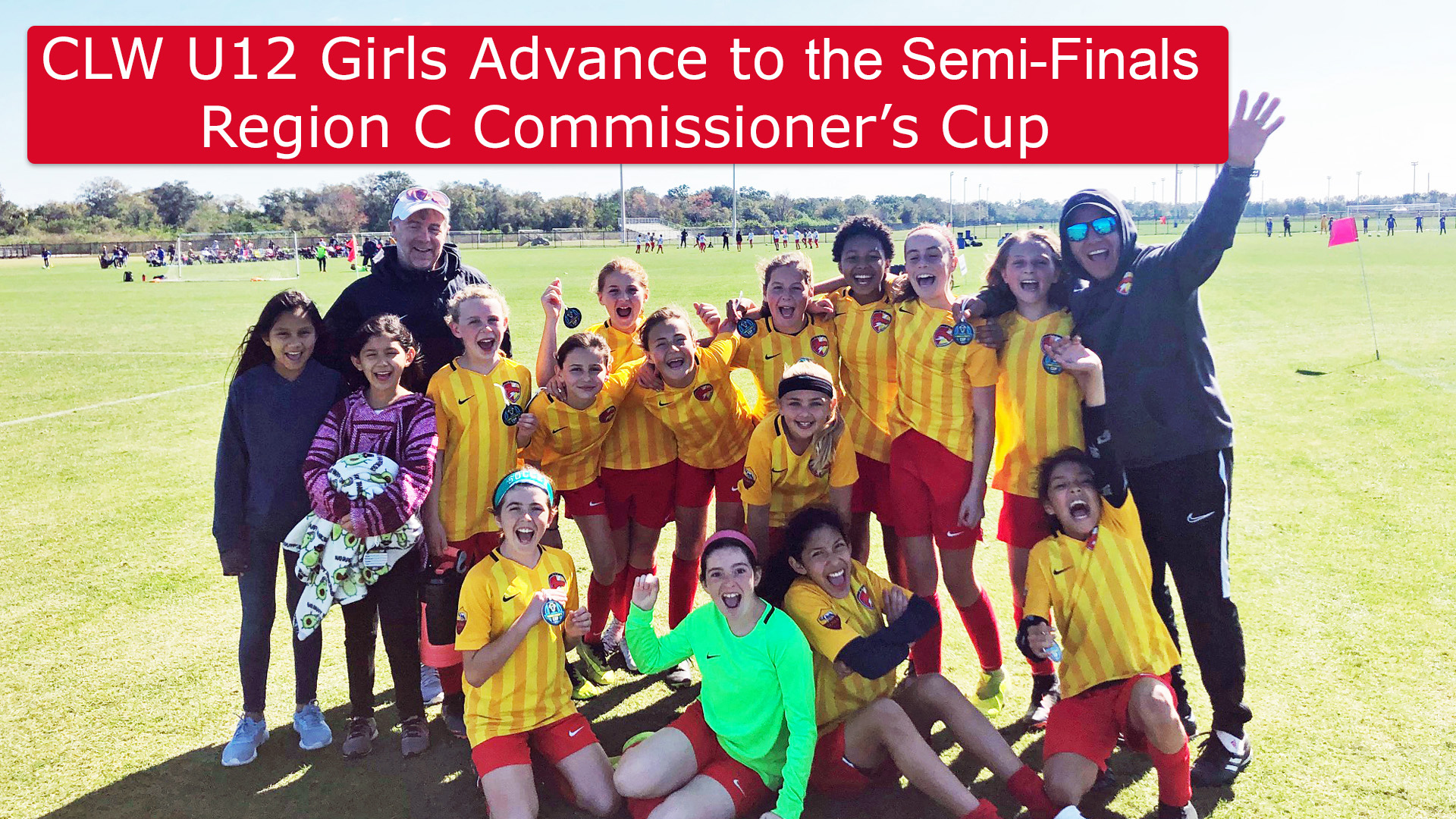 CLW U12g Advance in Commissioner's Cup