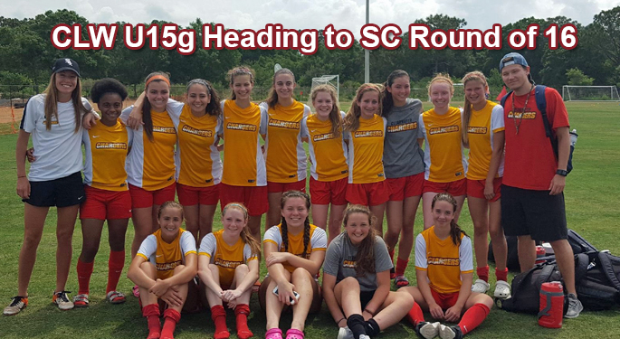 CLW U15g Heading To Round of 16