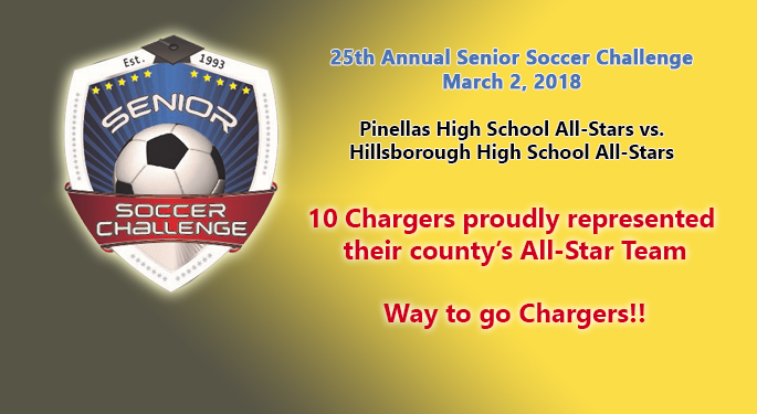 10 Chargers - Senior Soccer Challenge