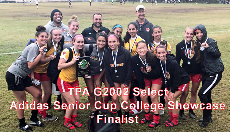 TPA G2002 Select Finalists in Savannah