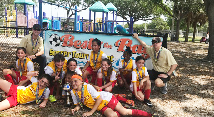 TPA U10g Best of the Bay Champions