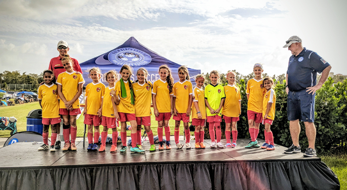TPA U11g Finalist at Palm Beach Gardens