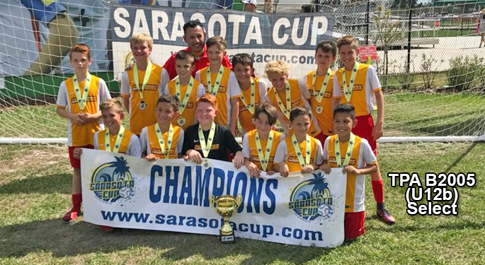 TPA U12b Select Sarasoa Cup Champs