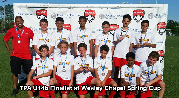 TPA U14b Finalist at WC Spring Cup